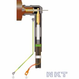 Plug-in sealing end (elbow) type EASW 20